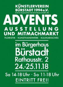 Flyer Adventsausstellung